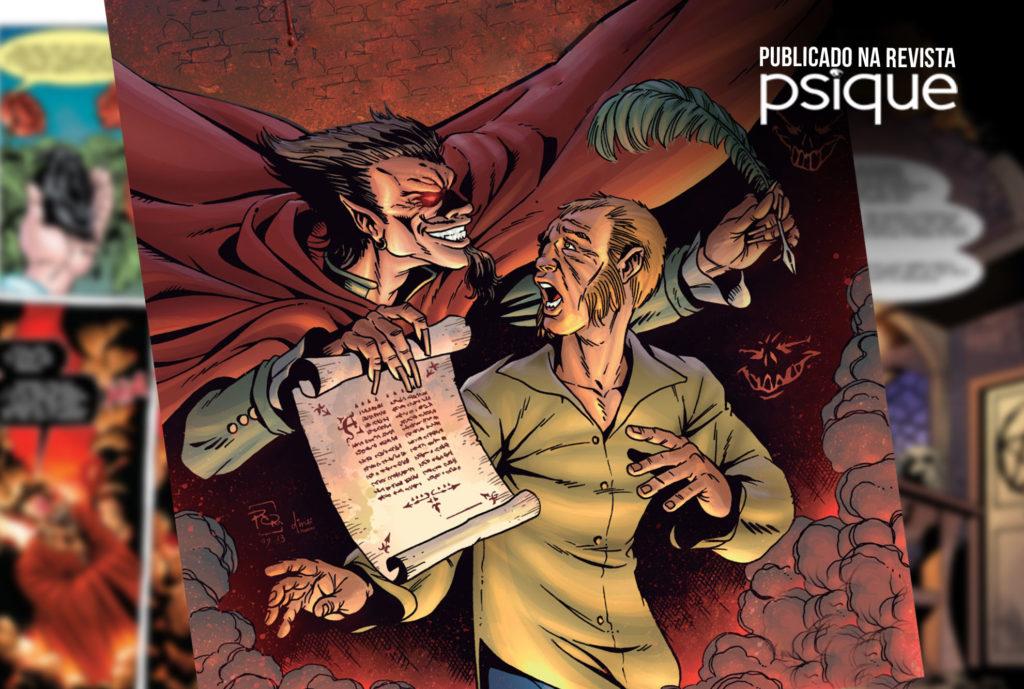 Fausto em quadrinhos: uma tragédia